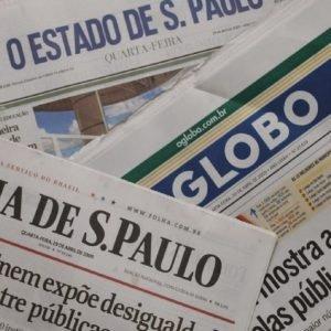 Veja as manchetes e editoriais dos principais jornais hoje (24/01/2020)