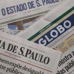 Veja as manchetes e editoriais dos principais jornais hoje (03/08/2021)
