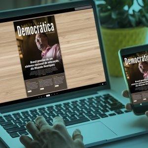 Educação, recuo da indústria e poder religioso são destaques da Política Democrática Online de fevereiro